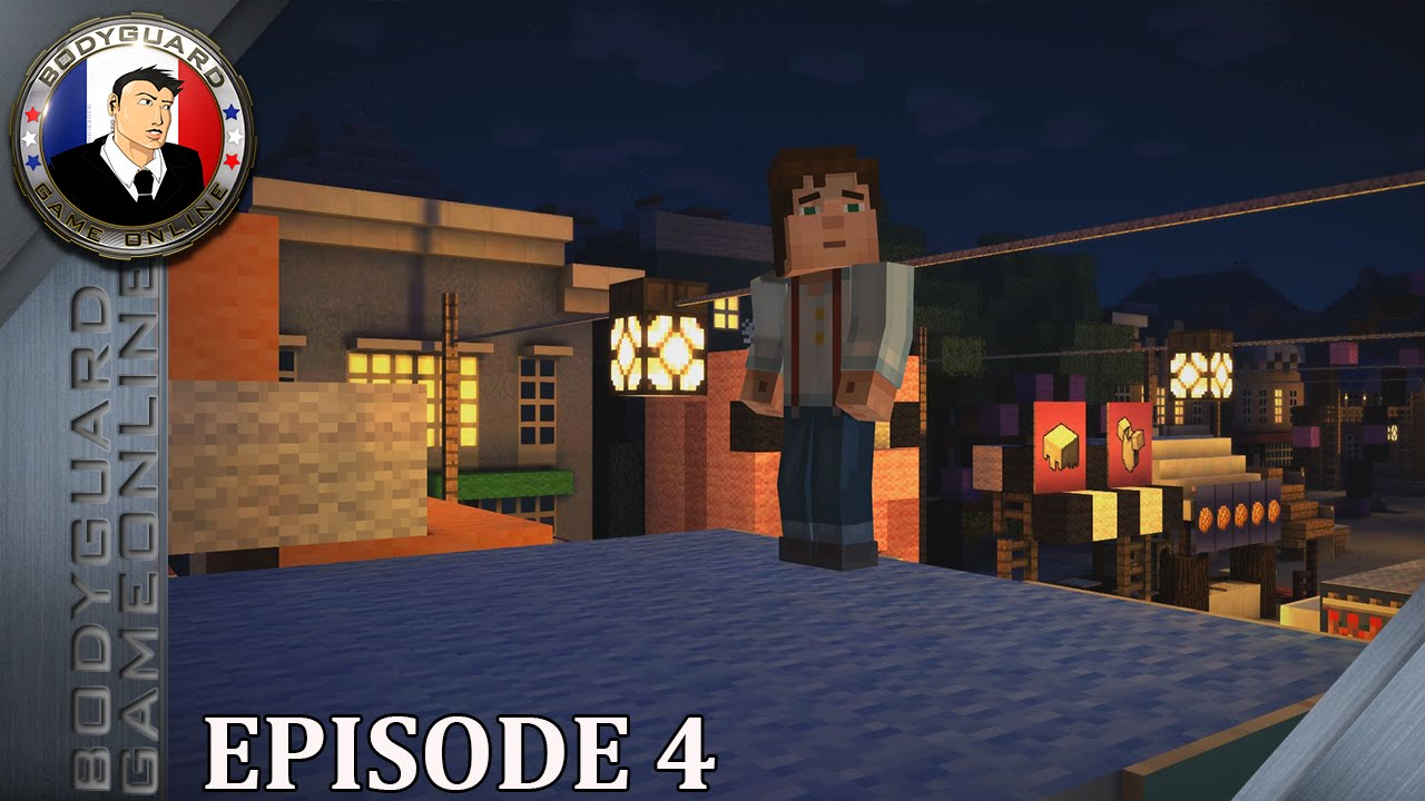 Download Minecraft: Story Mode (English VOSTFR) - Let's Play Épisode 4 [4K 3840x2160 Pc]