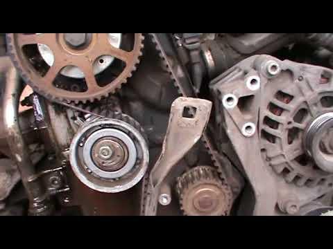Замена ремня  ГРМ и воздушного фильтрв VW  Passat B 5.5 AZM