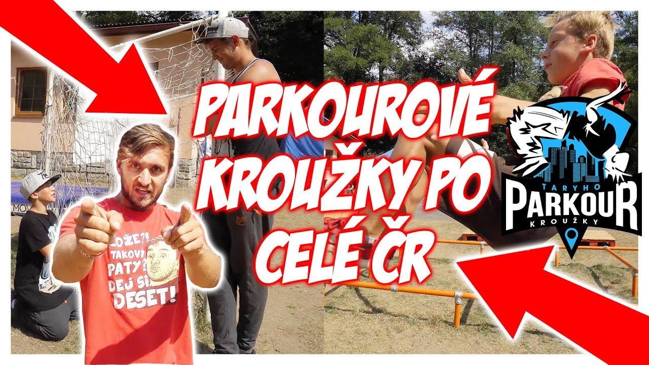 Tary Parkour Kroužky po celé ČR!