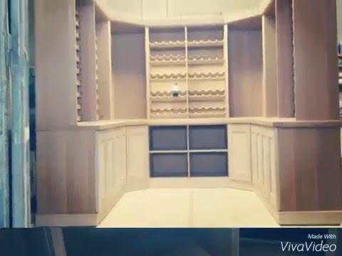 Costruzione mobili in legno massello per cantine youtube - Mobili per cantine ...