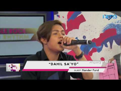 XANDER FORD FT. TEEN TRENDS PH. NET25 LETTERS AND MUSIC Guesting - EAGLE ROCK AND RHYTHM