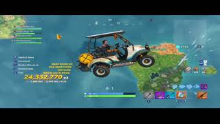 Fortnite golf cart glitch rift