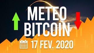 La Météo Bitcoin FR - lundi 17 février 2020 - Analyse Crypto Fanta