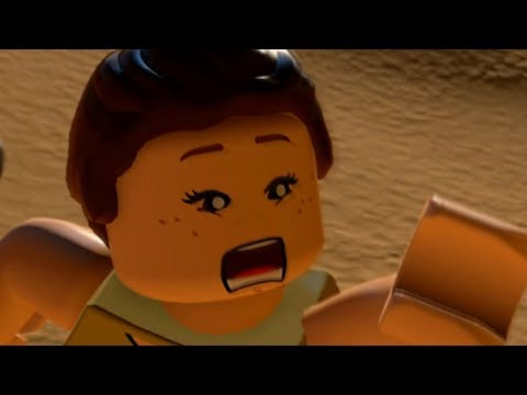 LEGO Star Wars: The Force Awakens - REY'S PAST Cutscene Movie Cinematic
