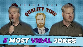 "Jim Gaffigan Top 5 MOST VIRAL Jokes from ""Quality Time"""