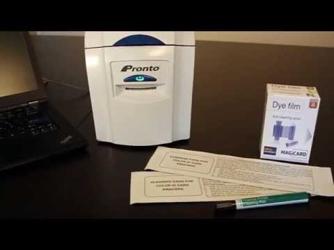 Magicard Pronto ID Card Printer - How to Clean & Care For Your Printer
