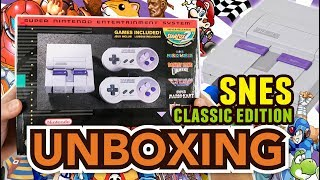 SNES Classic Edition Unboxing !!