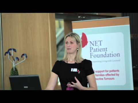 Nutrition in NETs - Tara Whyand: NET Patient Foundation event at Ascot Racecourse 10th November 2012