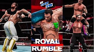 WWE Royal Rumble 2018 Top 10 SHOCKING Predictions! (WWE 2K18)