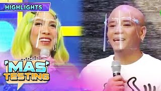 Vice Ganda shares something about Wacky Kiray! | It's Showtime Mas Testing