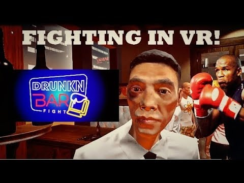 GETTING DRUNK AND FIGHTING IN VR! | Drunkn Bar Fight VR
