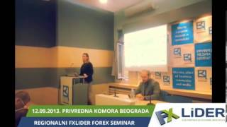 12.09.2013. Regionalni FXLider seminar u Beogradu