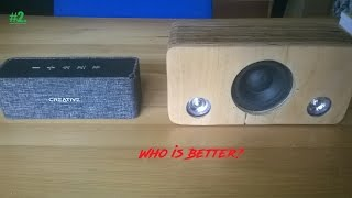 DIY.Bluetooth speaker Vs Creative NUNO,Review