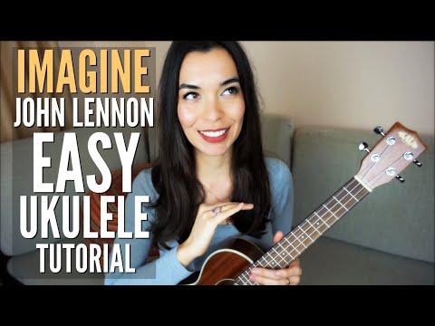 Imagine By John Lennon Easy Ukulele Tutorial Worldukuleleday Youtube