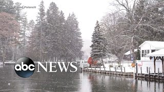 Millions feeling the chill from Deep South to Northeast | ABC News