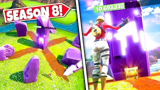 *NEW* LARGE CUBE STONES *ACTIVE* AFTER EPIC CONFIRMS LOCATION OF X MARKS THE SPOT! SEASON 8 UPDATE!