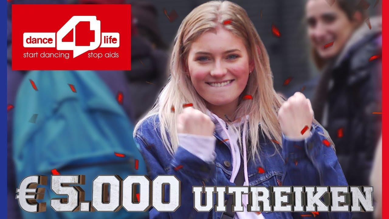 5.000 EURO UITREIKEN AAN DANCE4LIFE | Challenges Cup #68