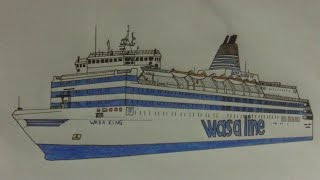 Drawing M/S Wasa King