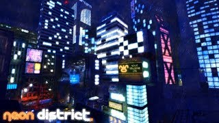Neon District Mini-Trailer ( Non official ) [ ROBLOX ]