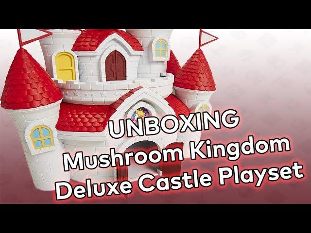 UNBOXING! Mushroom Kingdom Deluxe Castle Playset by Jakks Pacific!