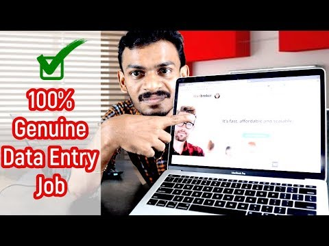 Online Data Entry Job With Weekly Payout 100% Genuine