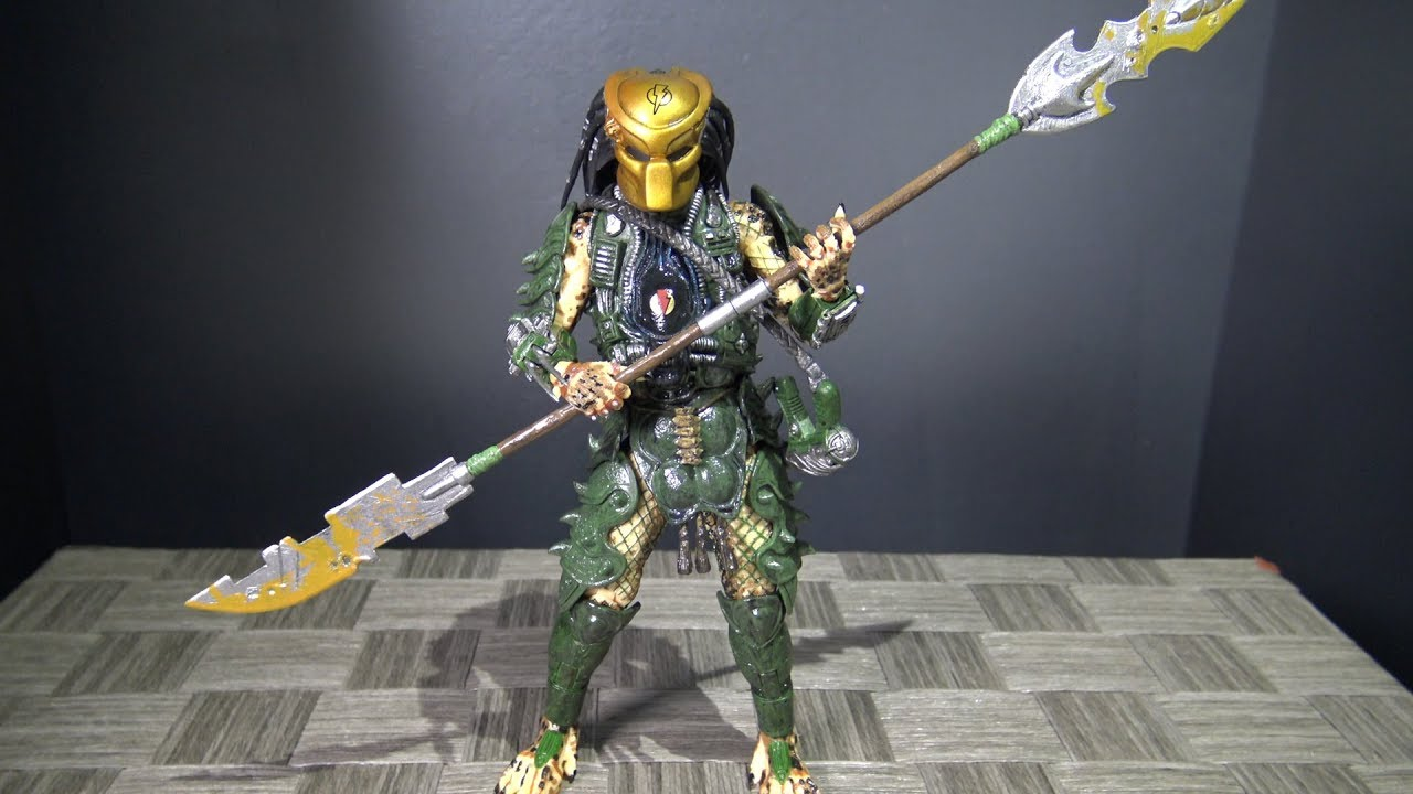 Neu Predator Serie 18 Broken Tusk Predator action figur neca