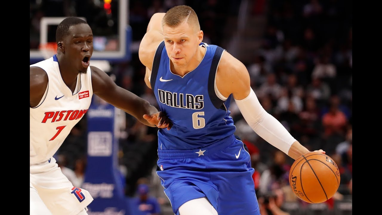 Kristaps Porzingis Makes Mavericks Debut With Luka Doncic