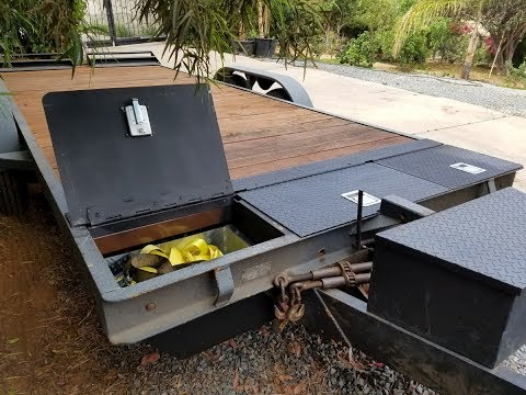 Making In-Deck Trailer Storage Bins