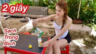 Mẹo Rót Sữa Từ Bịch Ra Bình Cực Kỳ Nhanh Mà Không Ai Biết / Cách Rót Sữa Tươi Siêu Nhanh