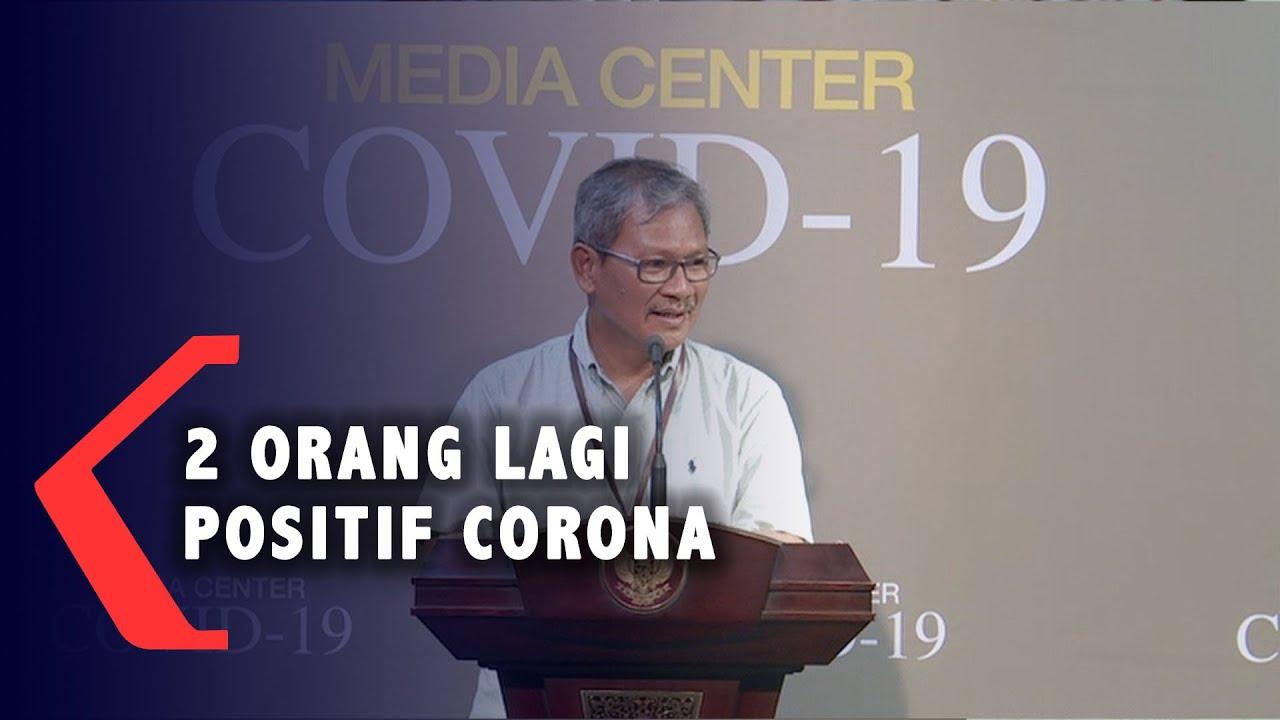 FULL Keterangan Kondisi Terkini Tambahan 2 WNI yang Positif Corona di Indonesia