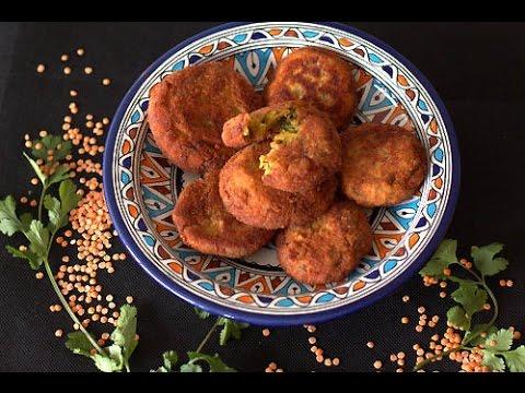 galettes-aux-lentilles-corail-/-red-lentil-patties-/-طريقة-عمل-فطائرالعدس-الأحمر