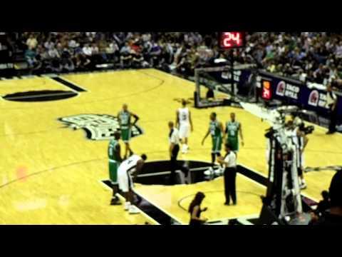 Boston Celtics and San Antonio Spurs 2011 3/31/2011
