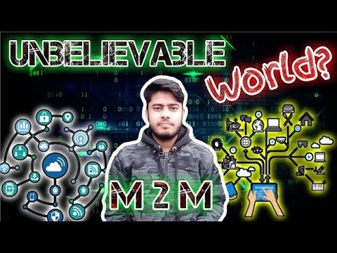 What Is Machine To Machine Communication | IoT Explained In Hindi