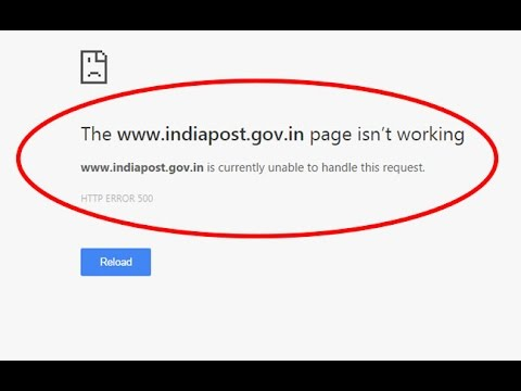 Fix The page isn't working-HTTP ERROR 500-Website is currently unable to handle this request