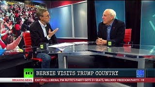 Bernie Visits Trump Country & Here's What Happens