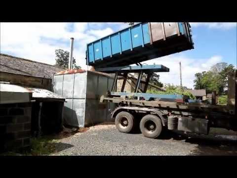 Wood chip fuel deliveries