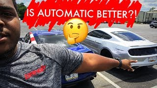 Automatic VS Manual: Which Is Better? 2015-2017 Mustang GT Review