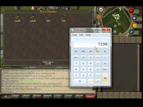 Tutorial] runescape: jewelry crafting & enchanting (amulets, rings.