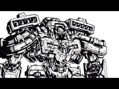 How To Draw Robots And Mecha Suits