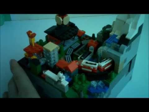 Tiny Town world's smallest functioning LEGO Train
