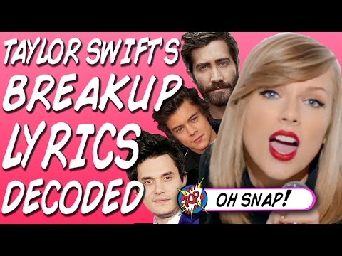 Who Taylor Swift's Songs Are About - Lyrics Decoded!