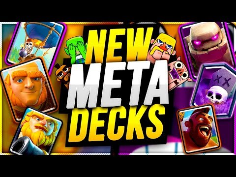 CURRENT CLASH ROYALE LADDER META is NUTS!