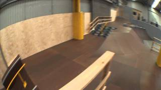 THE SHED SKATEPARK - WALK THROUGH WITH RENTON MILLAR