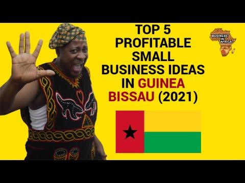TOP 5 PROFITABLE SMALL BUSINESS IDEAS IN GUINEA BISSAU (2021), BEST BUSINESS IDEAS IN GUINEA BISSAU