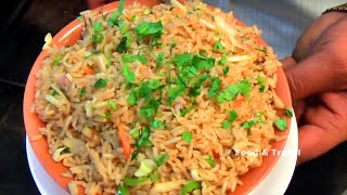 Veg Fried Rice | Fast Food & Street Food In India