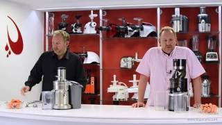 Sana Horeca EUJ-909 Commercial Juicer vs. Cetrifugal Juicer