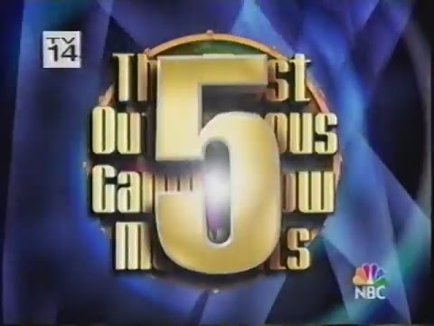 The Most Outrageous Game Show Moments 5 (2003)