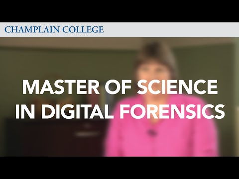 Master of Science in Digital Forensics | Champlain College