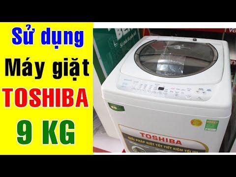 Sử dụng Máy giặt Toshiba 9 Kg AW-G1000GV   Điện Máy Giang Nga