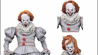 NECA Toys It movie 2017 Ultimate Pennywise the clown  (Well House) my thoughts